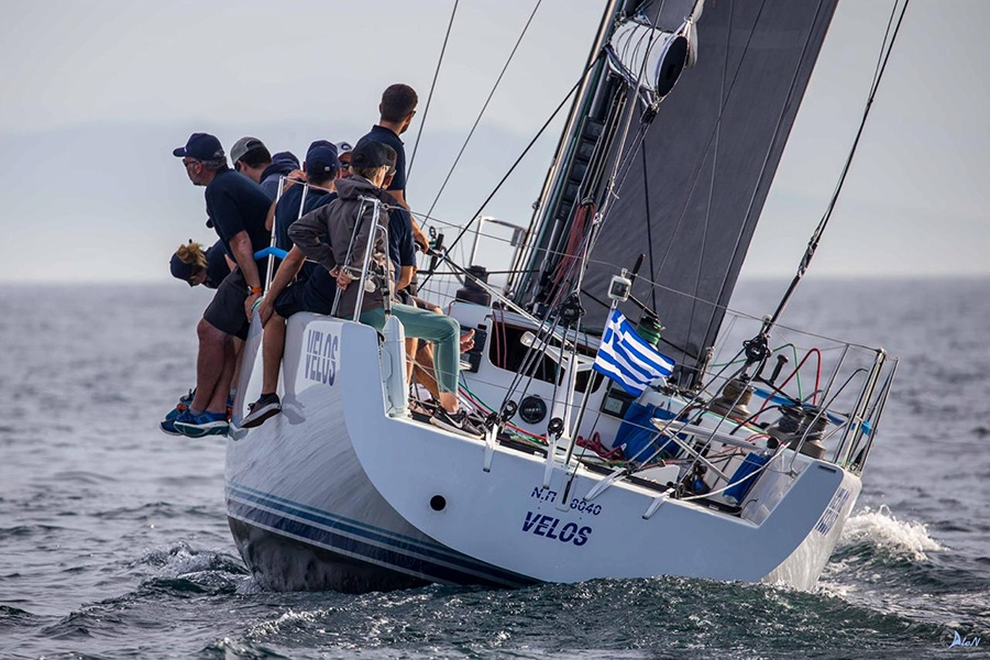 Panagiotis Mantis - Pavlos Kagialis extend their brilliant  career to IRC boats.